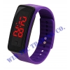 Colorful Gel Rubber Wrist Strap Digital LED Sport Watch