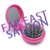Pocket Mirror with Hair Comb