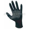 black disposable gloves