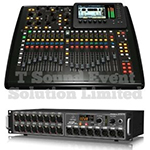 32-Channel Digital Audio Mixer