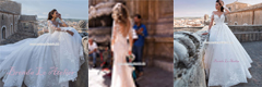 Big Tailed Wedding Dress